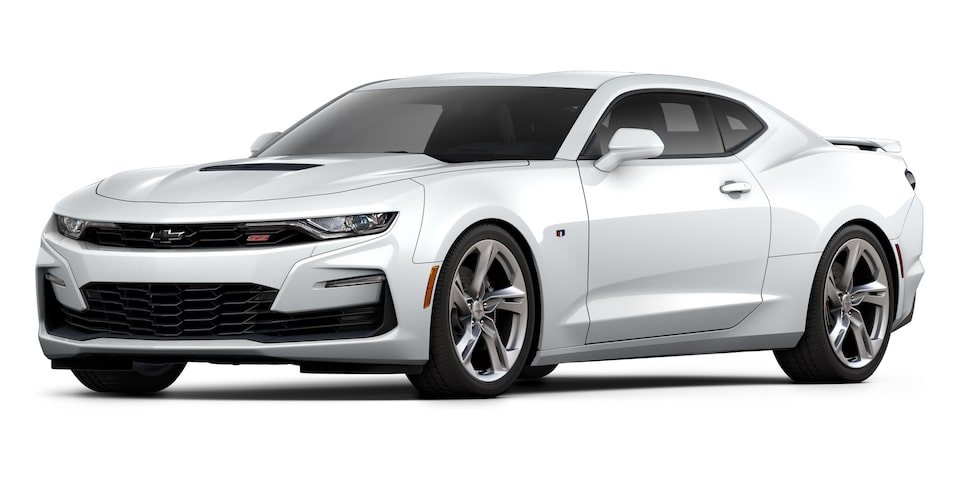 Chevrolet Camaro Coupé 2020, deportivo en color Summit White